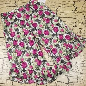 Gilligan O'Malley Tropical Sleepwear Capri Pants